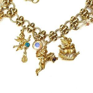 Jewelry - Gold Angel Charm Bracelet